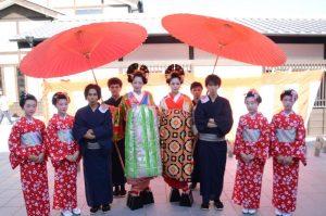 熊本城坪井川園遊会の秋の宴