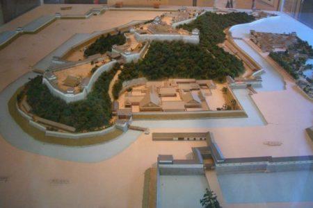 彦根城の模型
