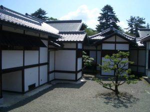 彦根城表御殿の中庭