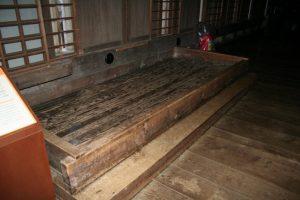 姫路城洗い場