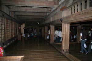 姫路城地下