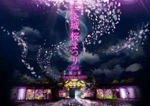 二条城桜まつり2018