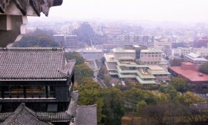 熊本城の城下町