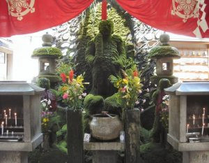 法善寺の水掛不動