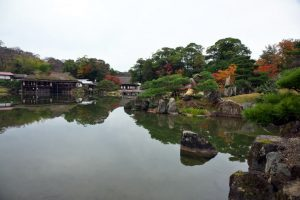 蓬莱島の鶴鳴渚